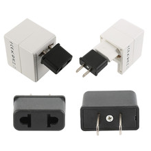 Universal Portable Outlet Plug Regulatory Adapter Power Electrical Socket Travel Converter Charger Car Accessories Dropshipping cheap CN(Origin) Conversion plug iron 6 (A) 20 (g)