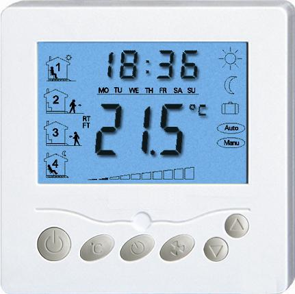 programmierbare digitale anzeige Fußbodenheizung thermostat in ...