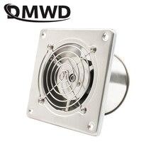 DMWD из нержавеющей стали 4 дюйма вытяжной вентилятор 4 ''Туалет Кухня Ванная висячая Стена Окно воздуховод вентилятор воздуха вентилятор экстрактор воздуходувка