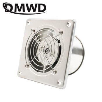 DMWD Â�テンレス鋼 4 Â�ンチ排気ファン 4 'トイレぶら下げ壁ウィンドウダクトファン空気人工呼吸器抽出送風機