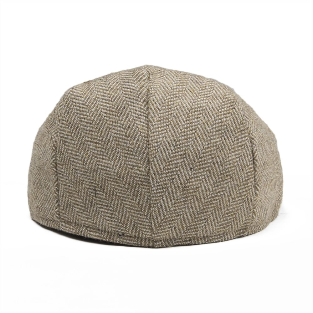 Damenmode Jangoul Small Size Kids Child Woollen Tweed Herringbone Flat Cap Boy Girl Newsboy Caps Infant Toddler Youth Beret Hat Boina 002
