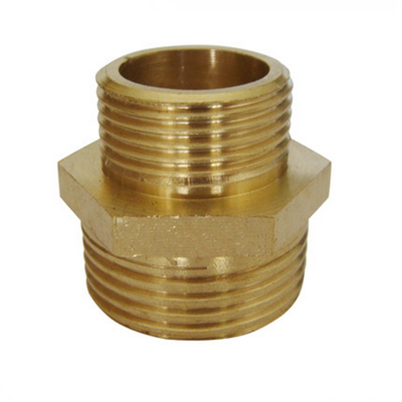 1 male x 3 4 male brass nipple connector hose copper for Copper pipes price