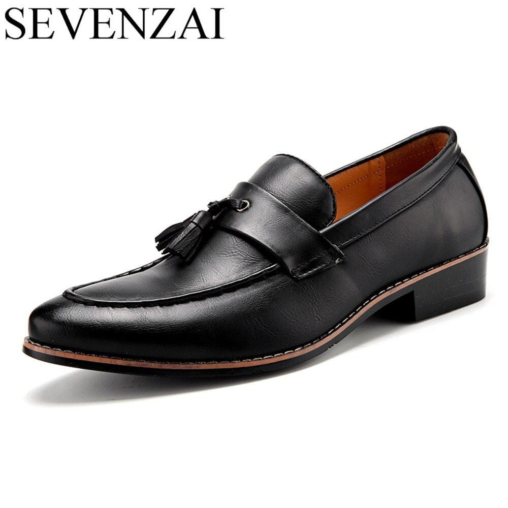 75d950b5d Фото 1 Роскошные брендовые Мужские модельные туфли с острым носком; знаменитая  Итальянская обувь с кисточками; Фото 2 ...