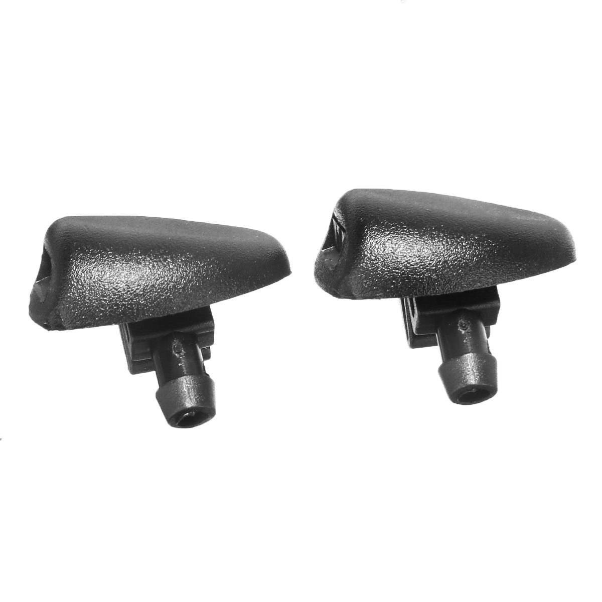 2pcs ABS Plastic Windshield Wiper Washer Spray Nozzle Washer Jet Nozzle Replacement For Peugeot 407 206