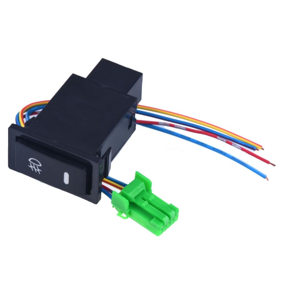 Interruttori Auto Per Toyota Corolla Vios LED Interruttore A Pressione Con  Connettore Filo Kit Laser Nebbia Interruttore Luci