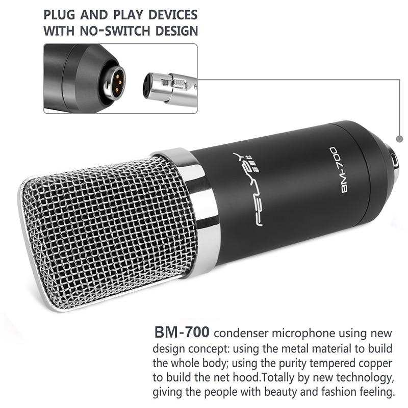 Professionele 3.5mm Wired condensatormicrofoon voor Audio Studio - Draagbare audio en video - Foto 4