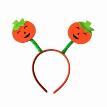 Children Adults Funny Halloween pumpkin Hairbands Christmas Headwear Lovely Christmas Hairbands birthday Party Hair Decoration