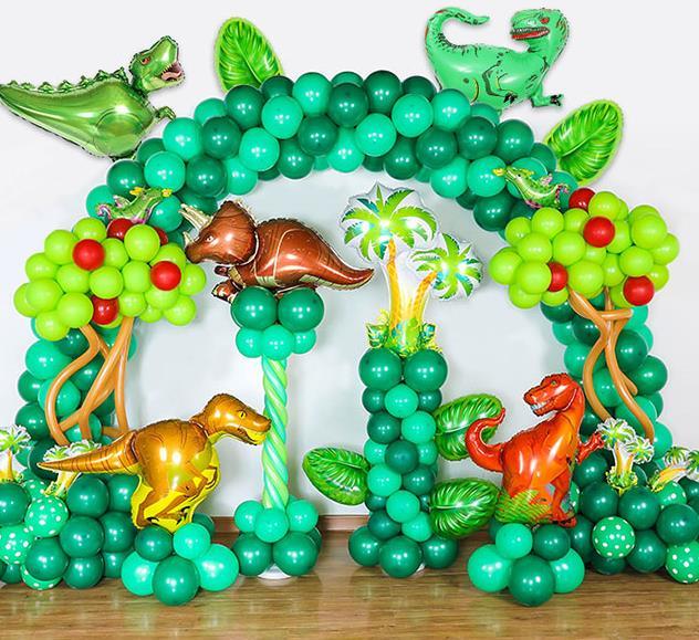 Dinosaur Balloon Dinosaur Party Decor Kids Happy Birthday