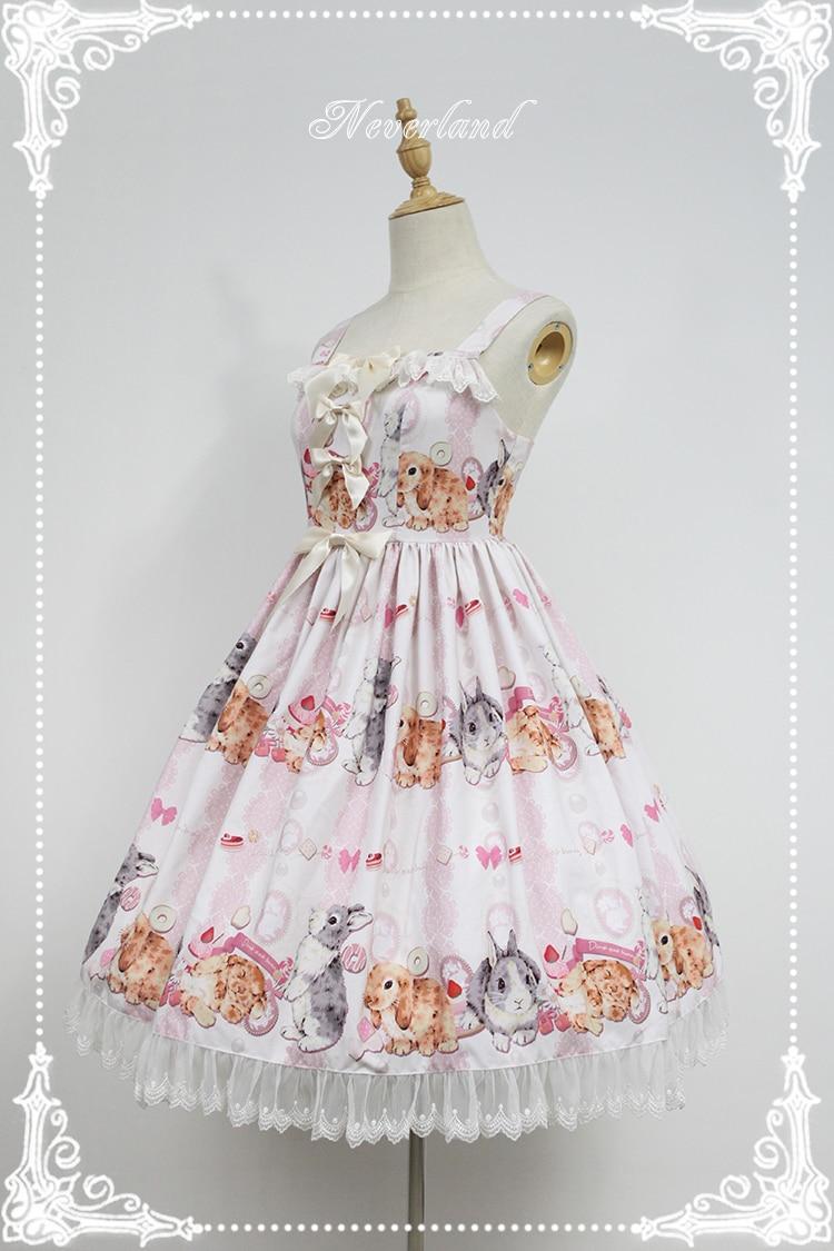 Здесь продается  Sweet Empire Waist Lolita JSK Dress Bunny