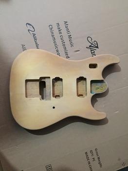 Afanti Music gitara elektryczna DIY korpus gitary elektrycznej (ADK-531) tanie i dobre opinie Beginner Unisex Do profesjonalnych wykonań Nauka w domu LIPA Drewno z Brazylii None Electric guitar Electric guitar body