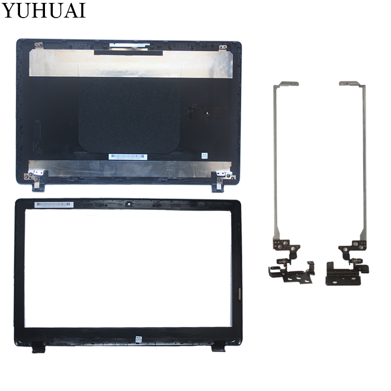 New FOR Acer Aspire ES1-512 ES1-531 N15W4 MS2394 Laptop LCD BACK COVER/LCD Bezel Cover/LCD hinges mad dragon brand new laptop monarch blue lcd front trim cover bezel for acer sf514 52t 511e lcd bezel cover gdm 4600d0y000