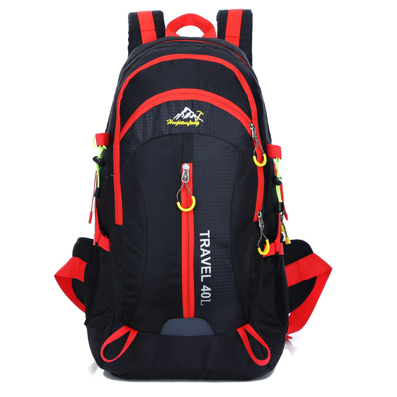 HOT 2019 Outdoor Brand Camping Mountaineering Hiking Sport Knapsack Cycling Waterproof backpack men women leisure travel bag