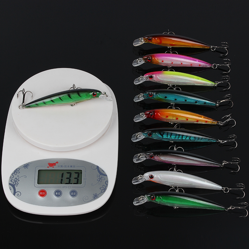 Goture 20 Piece / set Fishing Lure Set 10pcs Wobblers + 5pcs Slide - თევზაობა - ფოტო 3