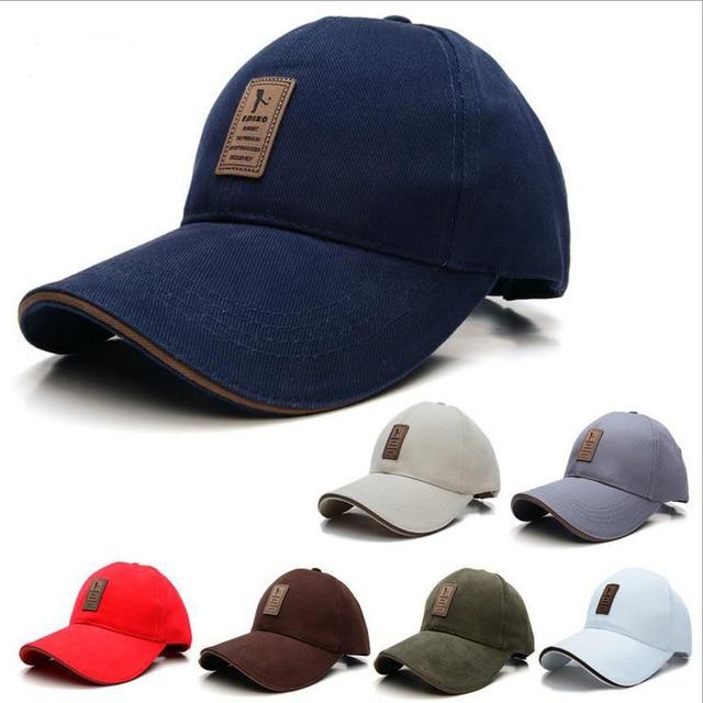 13be4999db8 EDIKO And Golf Logo Cotton Baseball Cap Sports Golf Snapback Outdoor Simple  Solid Hats For Men Bone Gorras Casquette Chapeu