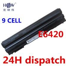 HSW 9 cell Nueva batería del ordenador portátil para DeLL Latitude E5420 E5430 E5520 E5530 E6120 E6420 E6430 E6520 E6530 Vostro 3460 3560