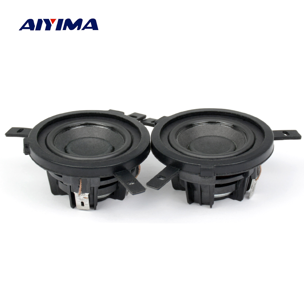 Speakers Knowledgeable Aiyima 2pcs 1.5 Inch 4 Ohm 5w Full Range Speaker Ultra-toxic Human Voice Neodymium Magnet For Peerless Speaker Diy Sturdy Construction