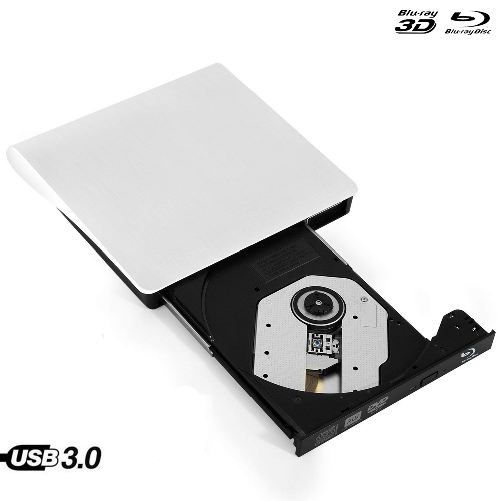 Odtwarzacz Bluray zewnętrzny napęd optyczny USB 3.0 Blu-ray BD-ROM CD/DVD dynapro i * cept RW palnika pisarz rejestrator przenośny dla Apple macbook Laptop