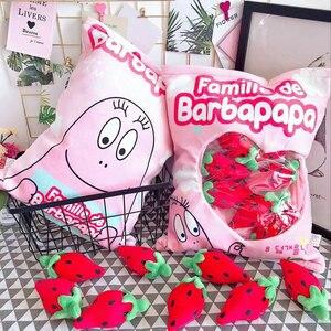 Мешок плюшевых конфетных игрушек, набитый клубничным карандашом/игрушечная игрушка-помидор, подушка в виде еды для детей, креативный подар...