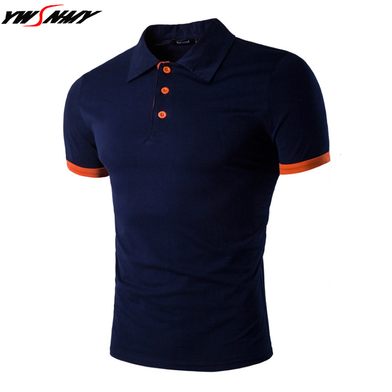 New Men's   Polo   Shirt High Quality Business Casual Men Solid Cotton Short Sleeve shirt Brands Jerseys Summer Mens   Polo   Shirts