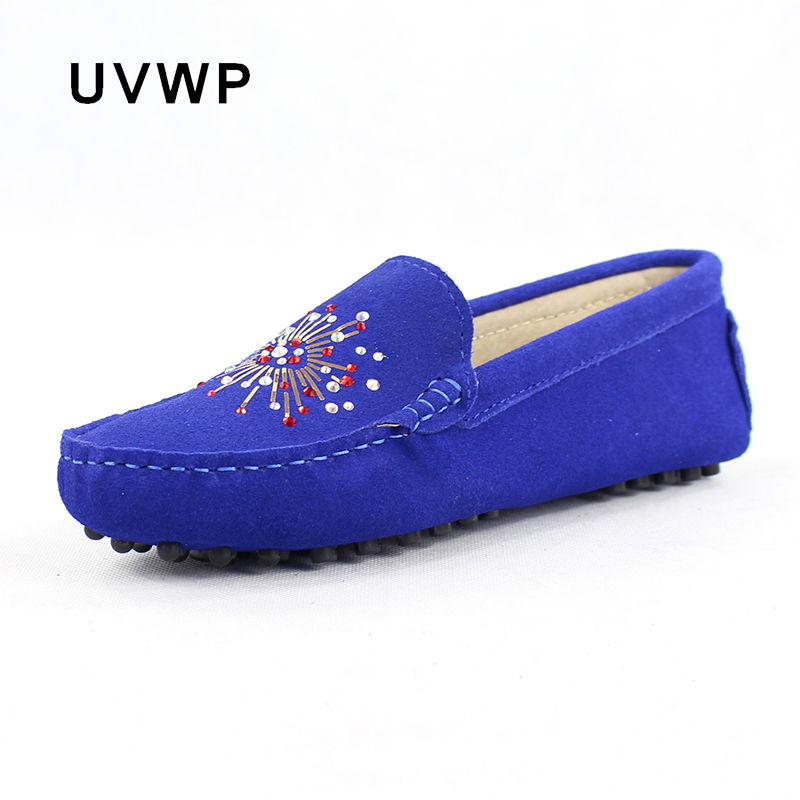 Female Footwear Flat-Shoes Moccasins Woman Loafers Slip-On Soft Fashion Casual