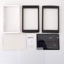 (Без Батареи) Универсальный 5 В PCBA Solar Power Bank Дело СДЕЛАЙ САМ Box Dual USB с 20 Шт. LED 5×18650 Солнечная Powerbank DIY KIT