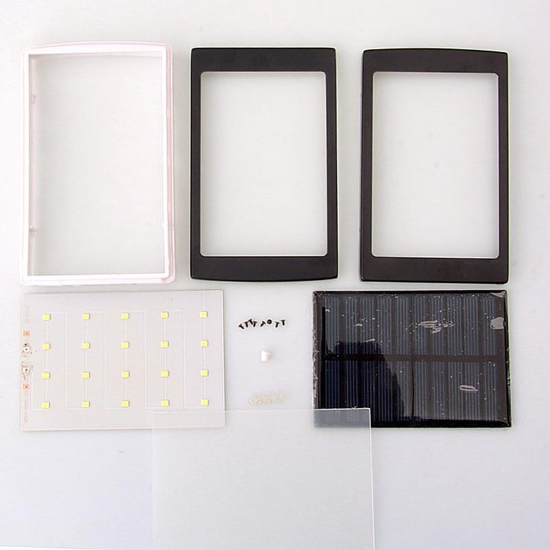 (Sin Batería) Universal 5 V PCBA Banco de la Energía Solar de la Caja DIY Dual U