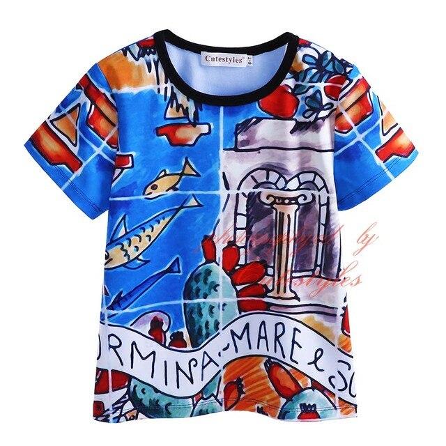 Pettigirl 2017 novo estilo moda meninos bonitos dos desenhos animados t-shirt do menino mangas curtas roupas para crianças crianças tops roupas bt90318-19l