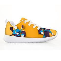 2019 dzieci buty dla dzieci obrazy z światła i cienia drukowane dla dziewcząt mody trampki buty Sapato Infantil dostosowane