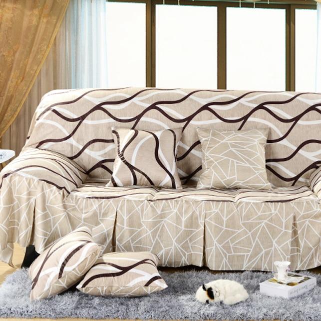 100 Cotton Sofa Set Cover Single