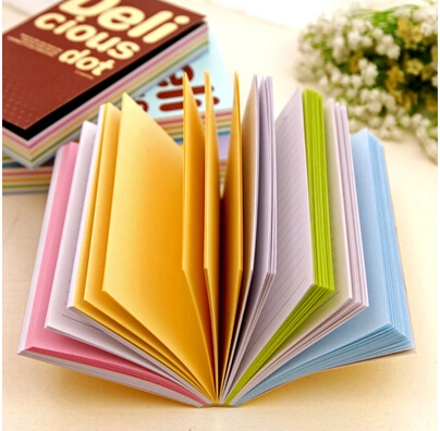 Korean Special Creative Colorful Pages Diary Notebook Organizer