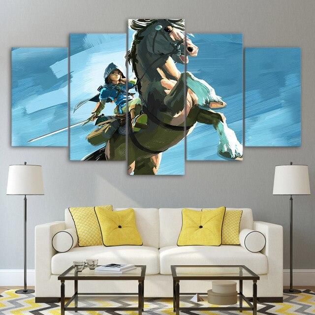Canvas Wall Art Pictures Frame Kitchen Restaurant Decor 5
