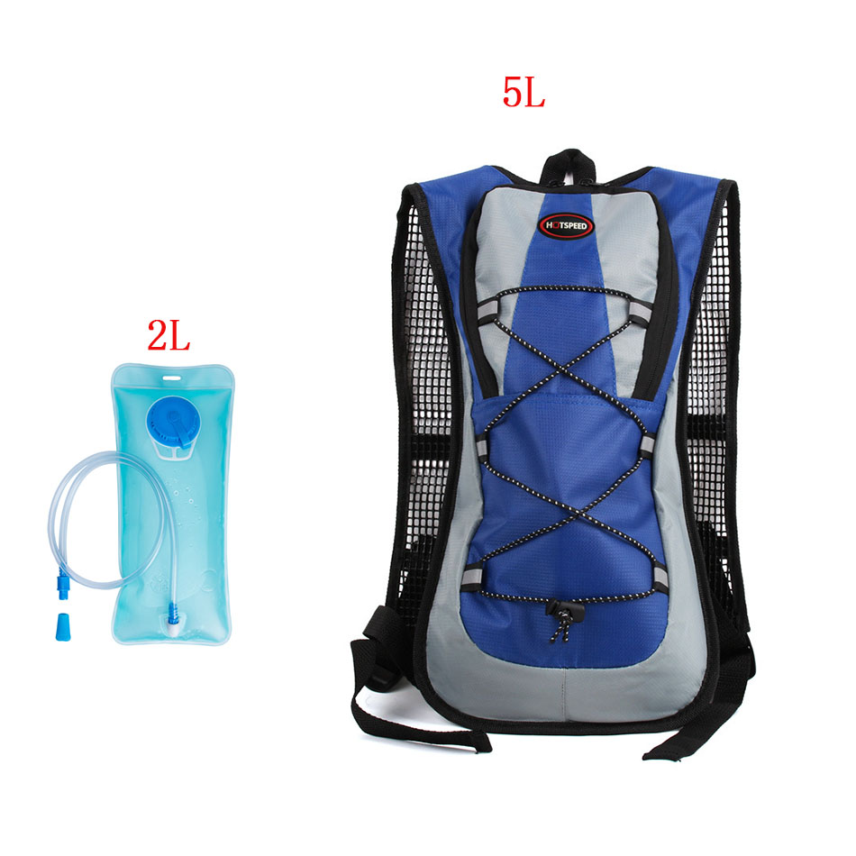 Bike 5L Mini Cycling Backpack Hold Water MTB Riding Road Bags Water Storage Bicycle Bag 2L Water Bag Riding Hiking Outdoor Bags