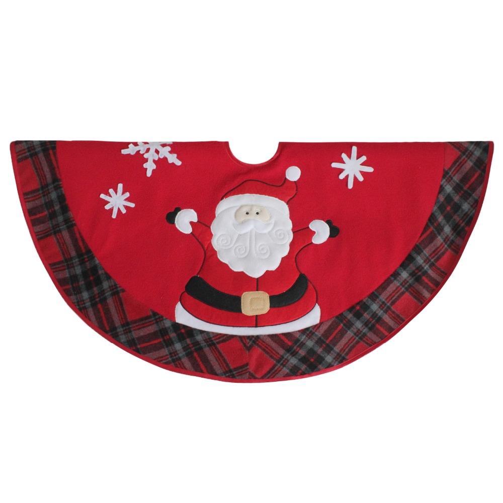 Acheter Livraison Gratuite Nouveau Design Extra Large 36 Noël Mignon Bonhomme De Neige Père Noël Broderie Arbre De Noël Jupe Rouge P2749 De 45 02 Du