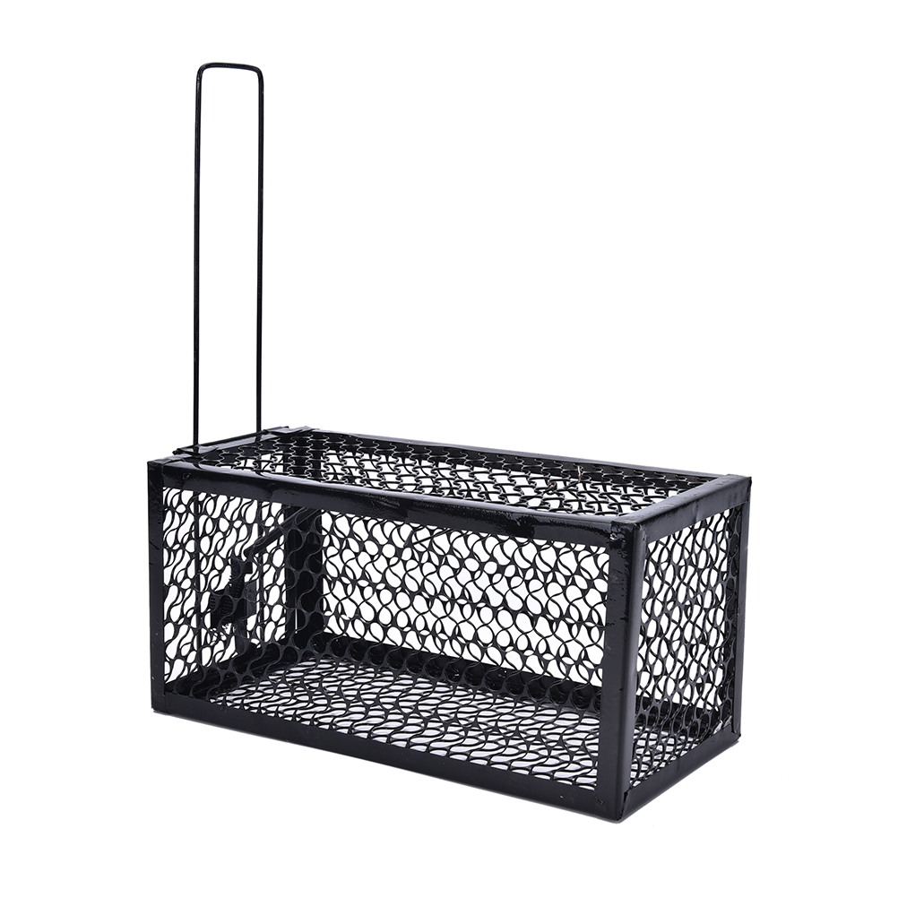 New Rat Cage Mice Rodent Animal Control Catch Bait Hamster Mouse Trap Humane Live Home High Quality Rat Killer Cage 1PCS