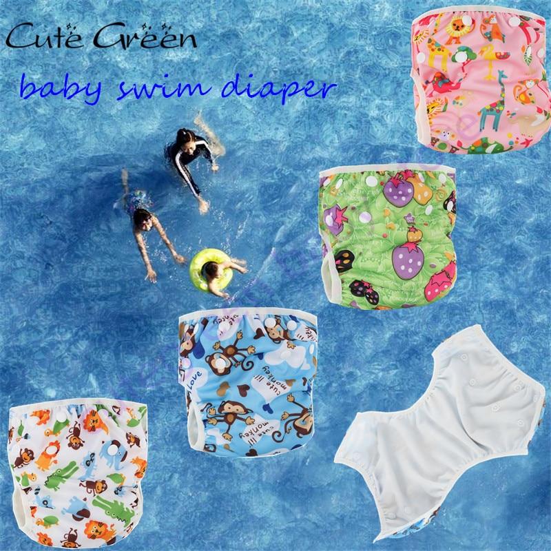 baba nyáron úszás pelenka baba pelenkák, újrafelhasználható vízálló PUL ruhával pelenka medence pelenka, mosható úszás pelenka medence úszás