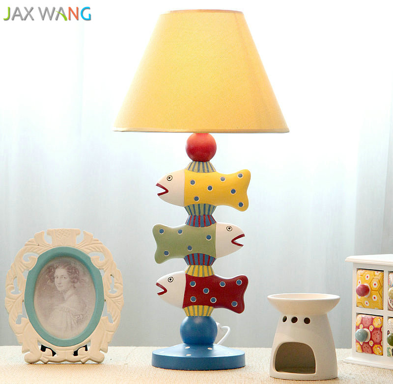 Nordic Creative Table Lamp Bedroom Bedside Lamp European ...