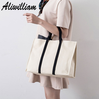 High Quality Luxury Brand Canvas Women Tote Handbags Zipper Pocket Cell Phone Package For Ladies Top