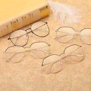a2b68f55e29 NOSSA metal retro glasses frame for with glasses frames