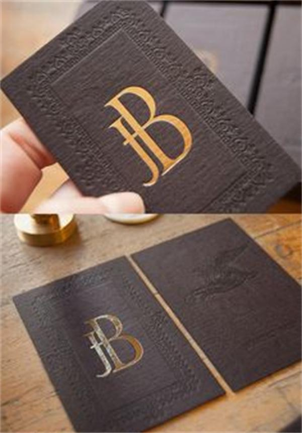 Hign end debossemboss business card custom gold foil business cards hign end debossemboss business card custom gold foil business cards visit card 9054mm 200pcs special paper 600gsm in business cards from office school colourmoves
