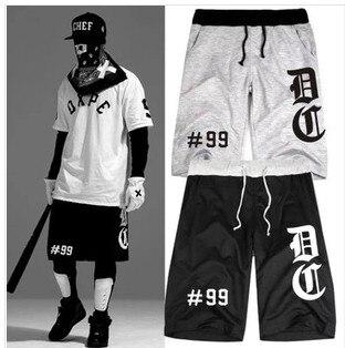 8c6f1a2d men shorts DXPE Chef 99 casual bermuda shorts kanye west hip hop shorts  women swag short pants streetwearplus size 4xl