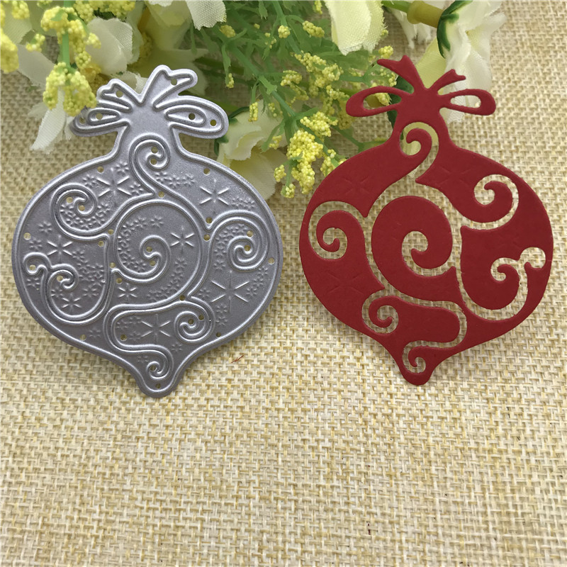 Christmas Bell Metal Cutting Dies Stencil Scrapbooking Photo Album Card Paper Embossing Craft DIY