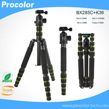 Professional Portable Photography carbon Fiber Tripod Change Monopod / Panoramic Ball Head / photo camera stand  For DSLR Camera