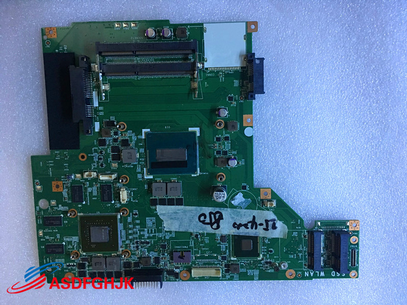 Genuine MS-175A1 For MSI GP70 MOTHERBOARD WITH I5 CPU AND GTX850M TESED OK