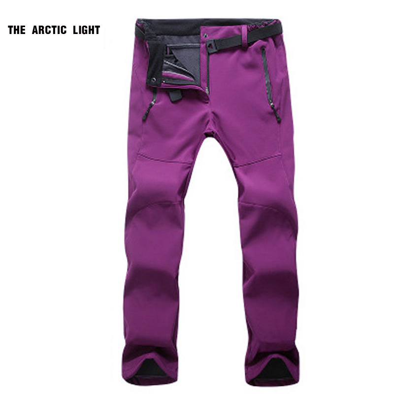 THE ARCTIC LIGHT Women Winter Outdoor Sports Climbing Pants Waterproof Windproof Hiking Mountain Thermal Trousers