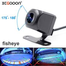 XCGaoon Metal CCD 180 degree Fisheye Lens Car Camera Rear View Wide Angle Reversing Backup Camera Night Vision Waterproof IP67(China)