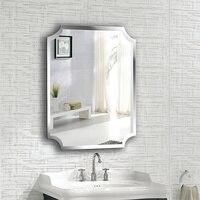 A1 простой бескаркасных внутренняя зеркало для ванной на стене ванной туалет макияж крем для обработки зеркало навесное wx8221858