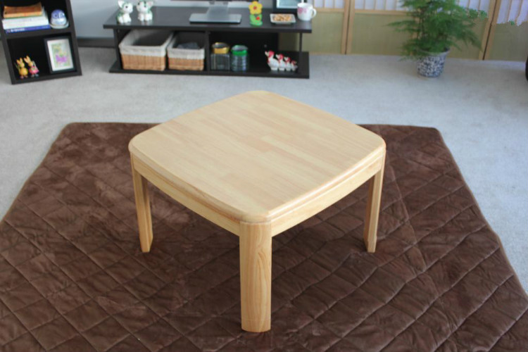 Asian Traditional Kotatsu Table Small Square 65cm For 1 2 Person Living Room Furniture Foot Warmer Heated Wood Low Coffee In Tables From