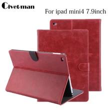 Civetman Grado Patrón PU funda de Piel para ipad 3 4 2 New Luxury Smart Cover Smartcover para iPad4 Flip Tab accesorios