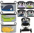 2016 Promoción coche de Bebé cesta colgante Accesorios cochecito cochecito de bebé de los animales bolsa de almacenamiento bolsa de pañales de Mama Bolsa A Prueba de agua