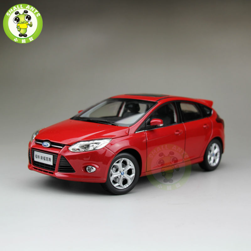 1:18 Ford New Focus Diecast car model for collection gifts hobby Red 2013 1 18 ford mondeo fusion diecast model car alloy model car hobby stores cars for sale aluminum die casting products